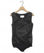 Maison Margiela 4(メゾンマルジェラ4)の古着「ボディスーツ」 ブラック