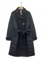 YOSOOU(ヨソオウ)の古着「ロングテーラードコート」|ネイビー
