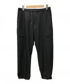 DESCENTE PAUSE(デサントポーズ)の古着「21SS CARGO PANTS/カーゴパンツ」|ブラック