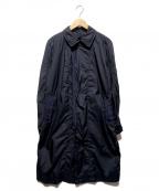 RAINMAKER()の古着「パッカブルステンカラーコート」|ネイビー