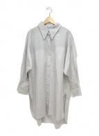 ()の古着「Cancliniシルエットシャツ」|グレー