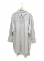 23区(ニジュウサンク)の古着「Cancliniシルエットシャツ」|グレー
