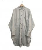 syte(サイト)の古着「オーバーサイズシャツ」|グレー