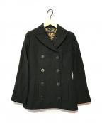 DOLCE & GABBANA(ドルチェ&ガッバーナ)の古着「Pコート」|ブラック