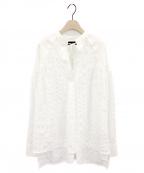 styling/ kei shirahata(スタイリング / ケイ シラハタ)の古着「アローヨークシアーカフタンブラウス」 ホワイト