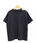 sacai()の古着「ポケットTシャツ」 ネイビー