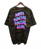 anti social social CLUB(アンチソーシャルソーシャルクラブ)の古着「プリントTシャツ」 カモフラ