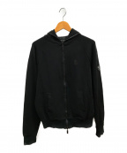 Dartin Bonaparto(ダルタン ボナパルト)の古着「ジップパーカー」 ブラック