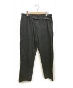GRAMICCI(グラミチ)の古着「ルーズテーパードパンツ」|ブラック