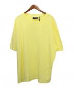 FOG ESSENTIALS(フィアオブゴッド エッセンシャル)の古着「オーバーサイズTシャツ」|イエロー