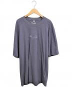OAMC(オーエーエムシー)の古着「20SS プリントTシャツ」|ネイビー