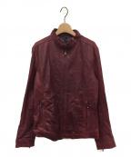 glamb(グラム)の古着「レザーライダースジャケット」|ワインレッド