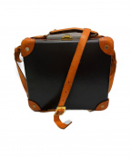 GLOBE-TROTTER(グローブトロッター)の古着「スクエア7インチミニトランクバッグ」|ブラウン