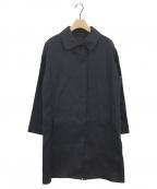MACKINTOSH()の古着「リネンステンカラーコート」 ネイビー