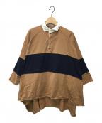 COGTHEBIGSMOKE(コグザビッグスモーク)の古着「ポロシャツ」|ブラウン