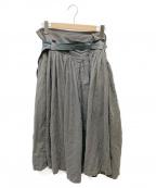Ys(ワイズ)の古着「スカート」|カーキ