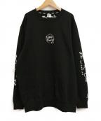 LEFLAH(レフラー)の古着「スウェット」|ブラック