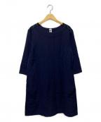 MHL(エムエイチエル)の古着「サックワンピース」|ネイビー