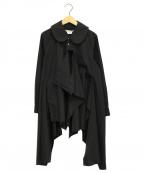 COMME des GARCONS(コムデギャルソン)の古着「レイヤードシャツ」 ブラック