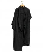 Y's(ワイズ)の古着「ロングカーディガン」|ブラック