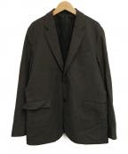 DESCENTE(デサント)の古着「スタイリッシュジャケット」 グレー