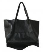 MIHARA YASUHIRO(ミハラヤスヒロ)の古着「レザートートバッグ」|ブラック