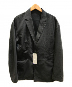 BEAMS Lights(ビームスライト)の古着「ラミーCOOLMAX2ボタンジャケット」|ブラック