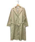 休日と詩(キュウジツトウタ)の古着「トリトンコート」|ベージュ