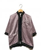 CITYSHOP(シティショップ)の古着「Vintage Chinese Pajama shirt 」|ラベンダー