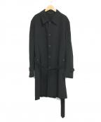 CORNELIANI(コルネリアーニ)の古着「シングルコート」|ブラック
