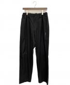 Yohji Yamamoto pour homme(ヨウジヤマモトプールオム)の古着「イージーパンツ」|ブラック