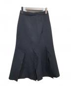 AKIRA NAKA(アキラナカ)の古着「スカート」|ブラック