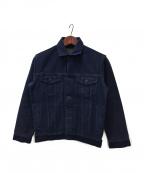 JAPAN BLUE(ジャパンブルー)の古着「刺子ジャケット」 ネイビー