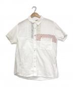 KAPITAL(キャピタル)の古着「ハーベストリメイクカトマンズシャツ」 ホワイト