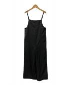 ()の古着「ホロエアリーサロペット」|ブラック