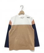 TOGA PULLA(トーガ プルラ)の古着「切替カットソー」|マルチカラー