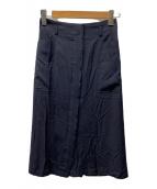 ()の古着「サイドポケットスカート」|ブラック
