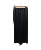 DRESSTERIOR(ドレステリア)の古着「サテンワイドパンツ」|ブラック