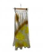 STUNNING LURE(スタニングルアー)の古着「マーブルサテンスカート」
