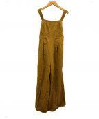 CASA FLINE(カーサフライン)の古着「バックタイベアオールインワン」|イエロー