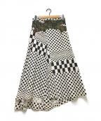 COMME des GARCONS(コムデギャルソン)の古着「スカート」|ホワイト