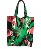 Vivienne Westwood ANGLOMANIA(ヴィヴィアンウエストウッド アングロマニア)の古着「トートバッグ」|ブラック
