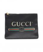 GUCCI()の古着「クラッチバッグ」|ブラック
