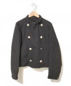 tricot COMME des GARCONS()の古着「ダブルジャケット」|ブラウン