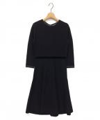 TOCCA(トッカ)の古着「FUDGE DRESS ニットドレス」|ブラック