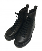 CAMPER(カンペール)の古着「ショートブーツ」|ブラック