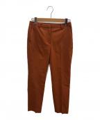 theory luxe(セオリーリュクス)の古着「Cotton Linen Stretch Somi E」 オレンジ