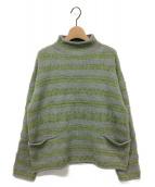 ()の古着「ジャカード908馬比古セーター」|グレー