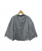 TOGA PULLA(トーガプルラ)の古着「デニムブラウス」 ブルー