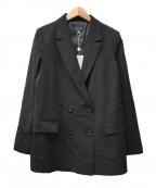 JUSGLITTY(ジャスグリッティー)の古着「ダブル釦ジャケット」|ブラック